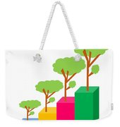 Green Economy Investment Concept Weekender Tote Bag