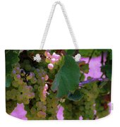 Green Grapes On The Vine 12 Weekender Tote Bag