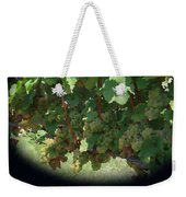 Green Grapes On The Vine 16 Weekender Tote Bag