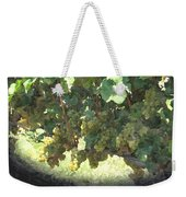 Green Grapes On The Vine 17 Weekender Tote Bag