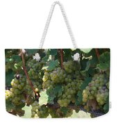 Green Grapes On The Vine 18 Weekender Tote Bag