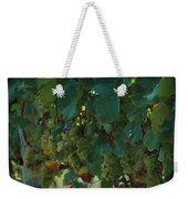 Green Grapes On The Vine 4 Weekender Tote Bag