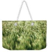 Green Growing Wheat Weekender Tote Bag