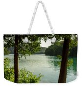 Green Lake, Ny Weekender Tote Bag