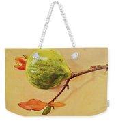 Green Pomegranate Weekender Tote Bag