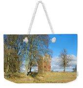 Greenknowe Tower In Late Winter Sun Scottish Borders Weekender Tote Bag