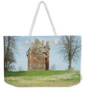 Greenknowe Tower Ruin Weekender Tote Bag
