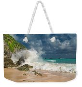 Greetings From The Beach Weekender Tote Bag