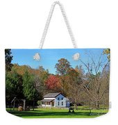 Gregg Cable House In Cades Cove Historic Area Of The Smoky Mountains Weekender Tote Bag