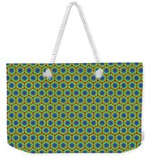 Grid Number 1 Weekender Tote Bag