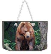 Grin And Bear It Weekender Tote Bag