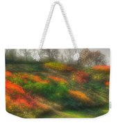 Ground Bouquet No. 3 - Somewhere In Greene County, Pennsylvania - Autumn Weekender Tote Bag