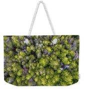 Grove Of Pines Aerial Weekender Tote Bag