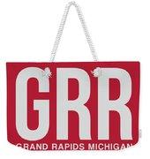 Grr Grand Rapids Luggage Tag II Weekender Tote Bag