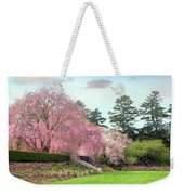 Weeping Cherry And Tulips Weekender Tote Bag