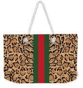 Gucci Leopard Print-1 Weekender Tote Bag