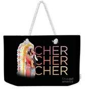Half Breed Cher Weekender Tote Bag