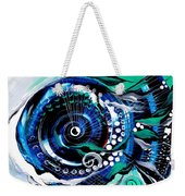 Half Smile Break The Ice Fish Weekender Tote Bag