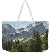Hallett Peak Colorado Weekender Tote Bag