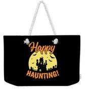 Halloween Shirt Happy Haunting Scary Tee Gift Weekender Tote Bag