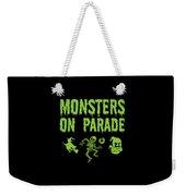 Halloween Shirt Monsters On Parade Green Gift Tee Weekender Tote Bag
