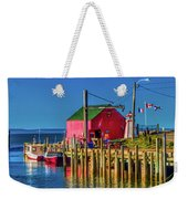 Halls Harbour Nova Scotia Weekender Tote Bag