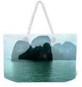 Halong Bay Mountains, Vietnam Weekender Tote Bag