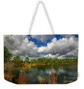 Halpatiokee Lake View #2 Weekender Tote Bag by Tom Claud