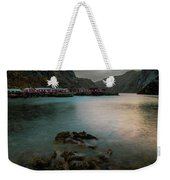 Hamnoy, Lofoten Islands Weekender Tote Bag