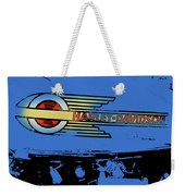 Harley Davidson Tank Logo Blue Artwork Weekender Tote Bag