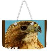 Hawks Mascot 3 Weekender Tote Bag