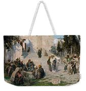 He That Is Without Sin, 1908 Weekender Tote Bag