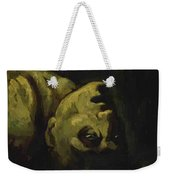 Head Of A Drowned Man Weekender Tote Bag