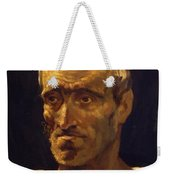 Head Of A Shipwrecked Man Study For The Raft Of Medusa 1819 Weekender Tote Bag