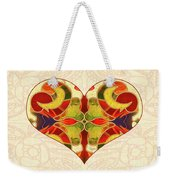 Heart Illustration - Creating Passionate Experience - Omaste Witkowski Weekender Tote Bag by Omaste Witkowski