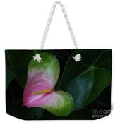 Hearts And Flowers Weekender Tote Bag