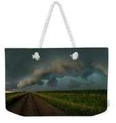 Heather's Birthday Storm Weekender Tote Bag