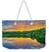 Heavenly Reflections In The Hill Country Weekender Tote Bag