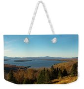 Height Of Land In Maine Weekender Tote Bag by Jeff Folger