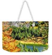Hello Autumn Weekender Tote Bag