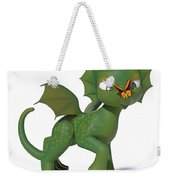 Hello There Butterfly Weekender Tote Bag