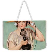 Hello This Is Liberty Speaking 1918 Weekender Tote Bag
