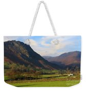Helm Crag And Wythburn Fells Above Grasmere In The Lake District Weekender Tote Bag