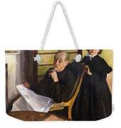 Henri Degas And His Niece Lucie Degas Weekender Tote Bag