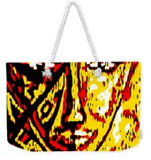 Her Multicultural Face Weekender Tote Bag
