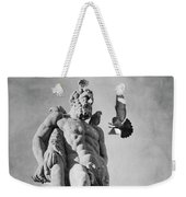 Hercules And The Bird With Extended Claws Weekender Tote Bag by Mary Lee Dereske