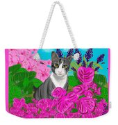 Hercules In The Garden Weekender Tote Bag