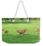 Herd Of Deer Weekender Tote Bag