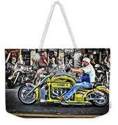 His Brodix Yellow Weekender Tote Bag