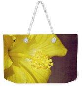 Hibiscus Yellow Weekender Tote Bag
